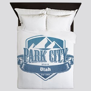 Park City Utah Ski Resort 1 Queen Duvet